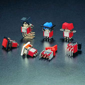 Miniature Rocker & Paddle Switches
